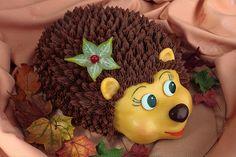 """Cake """"Funny hedgehog"""""""