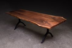 Sentient Walnut Center Join Live Edge Table | 2Modern Furniture & Lighting