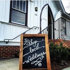 Shop Local Weddings is coming back for its 3rd year. Tuesday Jan 17th from 5-7:30pm. Event held at @allsaints1875 Check out their profile for the link to register. Space is limited & tickets are going fast. Congrats to all brides and grooms! #wedding #weddings #openhouse #bridal #chalkart