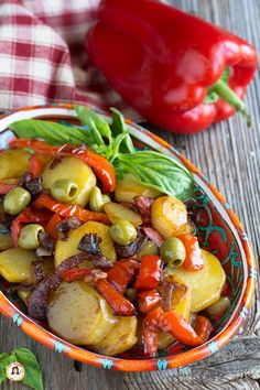 Veggie Recipes, Appetizer Recipes, Healthy Recipes, Italian Dishes, Italian Recipes, Greens Recipe, Vegetable Side Dishes, Good Food, Food And Drink