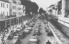 La via Bafile com'era. foto storica