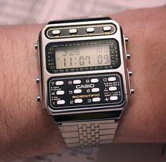 Casio scientific calculator watch (1983)