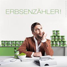 » Erbsenzähler « campain photo for PVS DEUTSCHLAND by Christian Lorenz