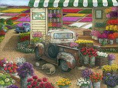 Field to Vase by Janet Kruskamp