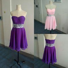 Bg641 Charming Prom Dress,Chiffon Prom Dress,Short Homecoming Dress