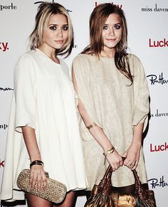 mary kate and ashley olsen this is def Alexis and I blonde and red hair haaaa