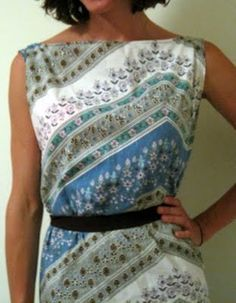 Another upcycled pillowcase dress!