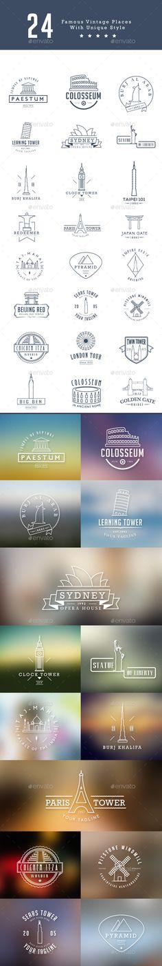 24 World Famous Places Template #design Download: http://graphicriver.net/item/24-world-famous-places/12008242?ref=ksioks