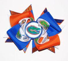 Florida Gators Hair bow