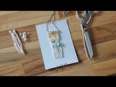Make A Miniature Woven Necklace with Lindsey from Hello Hydrangea
