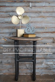 DIY PVC Pipe Table :
