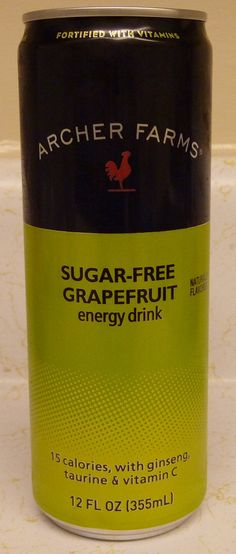 What's Good at Archer Farms?: Archer Farms Sugar-Free Grapefruit Energy Drink