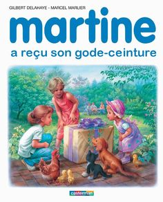 Martine a reçu son gode-ceinture