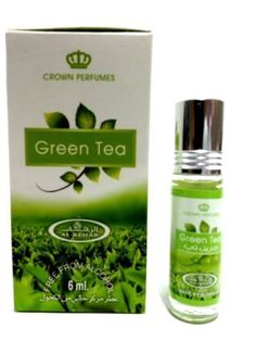 THÉ VERT 6ml Meilleure Vente Al Rehab Parfumée Huile – parfum de meilleur qualité: Huile parfumée premium par Al Rehab 100% neuf et…