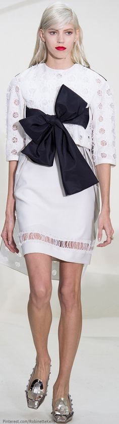 Christian Dior Haute Couture | F/W 2014 ~ Just a cute little basic dress while the weather is suitable ~