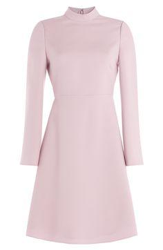 VALENTINO Wool-Silk Dress. #valentino #cloth #day dresses