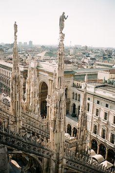 Milan Cathedral (Italian: Duomo di Milano; Lombard: Domm de Milan) is the cathedral church of Milan, Italy