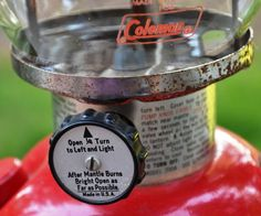 Tips on purchasing & repairing Coleman gas lanterns