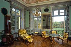 Das nordwestliche Zimmer in Schloss Favorite Ludwigsburg