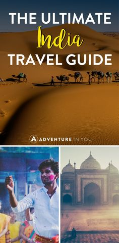 India Travel | Planning a trip to India? This travel guide will give you loads of information on the best things to do in in India as well as what to eat and where to go! #india #travel