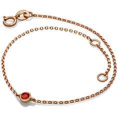 January birth stone garnet bracelet ($160) ❤ liked on Polyvore featuring jewelry, bracelets, stone jewelry, garnet stone jewelry, garnet jewellery, 18 karat gold jewelry and stone bangles