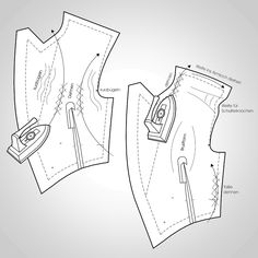 Tailoring Techniques, Sewing Techniques, Clothing Patterns, Sewing Patterns, Frack, Sewing Lessons, Bespoke Tailoring, Carnival Costumes, Jacket Pattern