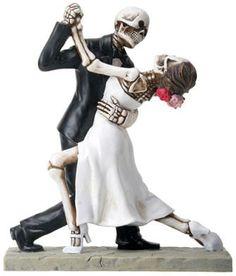 Halloween Groom and Bride 1st Dance True Love by splendorlocity