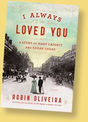 Author Robin Oliveira's web site and more details about her historical fiction novel, I Always Loved You