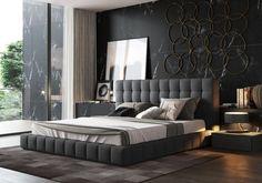 home decor bedroom design Bedroom Furniture Design, Luxury Bedroom Design, Master Bedroom Design, Bed Furniture, Home Decor Bedroom, Furniture Movers, Mens Bedroom Design, Furniture Websites, Furniture Dolly
