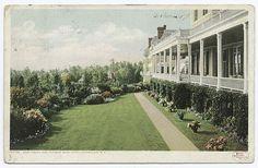 Hotel Champlain, East Front, Lake Champlain, N.Y.
