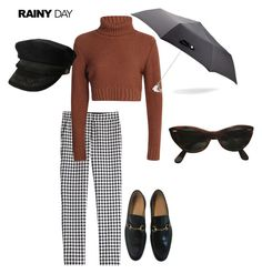 """""""it's 3am and I'm thinking of you"""" by cleomnia ❤ liked on Polyvore featuring Diane Von Furstenberg, Gucci, Ray-Ban and Alexander McQueen"""