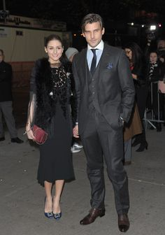 "The Olivia Palermo Lookbook : Olivia Palermo and Johannes Huebl at the screening of ""W.E."" in NYC."
