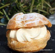 Choux caramel beurre salé, par Mercotte