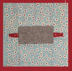 Rolling Pin Foundation Paper PIeced Pattern Block