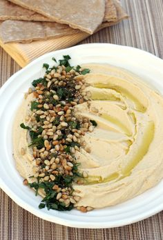 Miso makes this hummus something special. Almost as good as Oren's Hummus