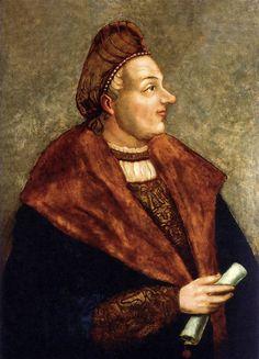 Portrait of Sigismund I the Old by Hans Dürer, 1530 (PD-art/old), Muzeum Narodowe w Warszawie (MNW)