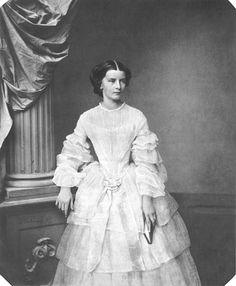 1854 Sissi Elisabeth_in_Bayern, _Kaiserin_von_Österreich