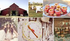 country inspiration for a fall wedding