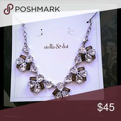 Stella and Dot Lila necklace Statement necklace Stella & Dot Jewelry Necklaces