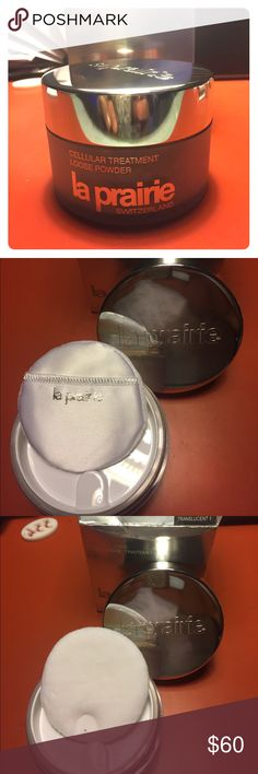 New La Prairie Translucent 1 powder make-up! New La Prairie Translucent 1 powder make-up! Only the 2.0 oz was left in the package. Make me a reasonable offer! La Prairie Makeup Face Powder