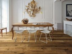 Parquet in rovere KALIKA by Woodco