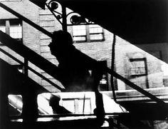 3rd Ave. El, NYC    faurer c.1948