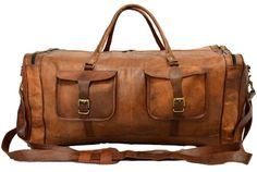 AUD$223 genuine leather travel luggage