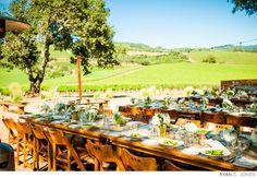 Reception Dinner - Ryan C Jones Photography #kundefamilyestate #weddingvenues