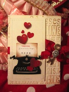 Sizzix: Die Cutting Inspiration and Tips: Valentine Inspirations