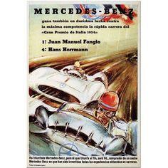 Trademark Fine Art Mercedes Benz Canvas Art, 18x24, Multicolor
