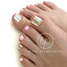 Маникюр | Ногти Pedicure Designs, Pedicure Nail Art, Toe Nail Designs, Toe Nail Art, Manicure And Pedicure, Pedicure Colors, Pedicure Ideas, Pretty Toe Nails, Cute Toe Nails