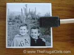 Photo Coasters Craft