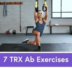 No More Sit-Ups: 7 TRX Exercises to Work Your Abs