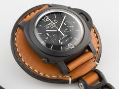 Panerai 317 on Watch Saddle pocket watch conversion